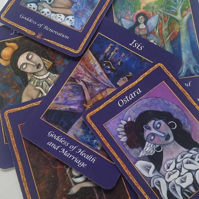 18 days left on our Kickstarter campaign and we're halfway to our goal! Help us reach our goal and get your deck today! Limited time offers for backers only! ...#goddessoracledeck #artists #tarotcards #inspiration #divine #divinefeminine #claudiaolivos #olivosartstudio #workingartist #femaleartist #latinoart #santafeart #goddesscards #goddesses #goddess #oraclecards #oraclecard #oraclecardreadersofinstagram #sacred #womenhealers #sacredart #zbesties #tarotcardreadersofinstagram