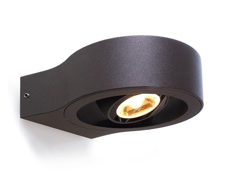 Deko-Light Außen LED Wandleuchte Swive, anthrazit LED Technik LED Wandleuchten