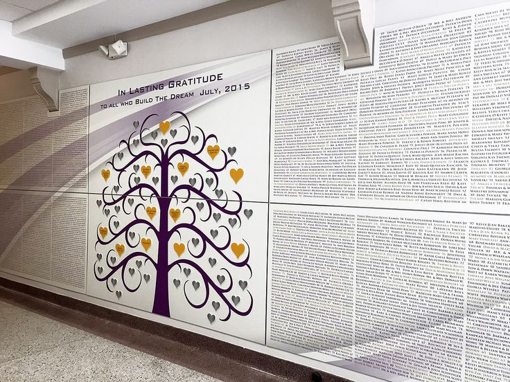 17 best images about donor wall examples on pinterest - Interior design schools in st louis mo ...