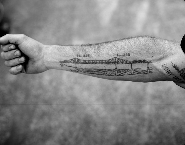 Bridge tattoo!
