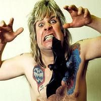 1982 During the height of his drug problem, Ozzy Osbourne was performing in Des Moines, Iowa when an audience member threw a bat onstage. Ozzy, believing it was rubber, bit its head off.