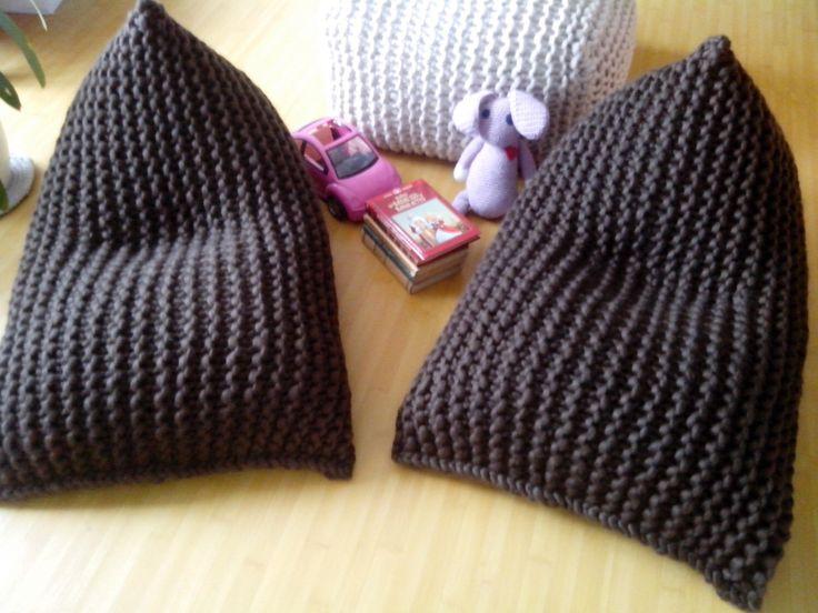 Chunky wool knit brown kids' bean bag / Bean bag chair / Nursery chair / Floor pillow by GieMarGa on Etsy https://www.etsy.com/listing/277528850/chunky-wool-knit-brown-kids-bean-bag