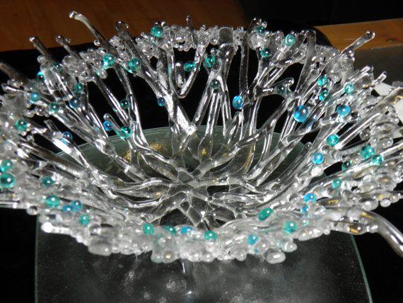 Bayas Congeladas - cristal claro fundido de hielo con bayas de invierno