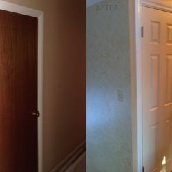The Brown Door On The Left Was Replaced With A Interior Door By HomeStory  Doors Of Chicago.