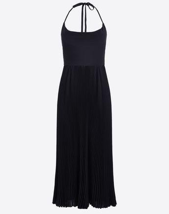 VALENTINO Femme Robe à jupe plissée 34629645JO
