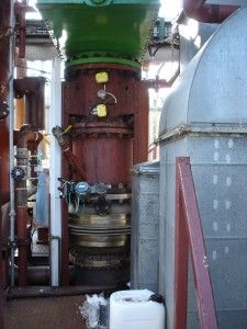 The PowerCan® 200 located at BWV in Northern Ireland it is dismantled ready for reconstruction at the Polish Shipyards at RUMIA. PowerCan® 200 will be permanently upgraded with GlidArc and cloned for mass manufacture