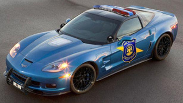 US police Chevrolet Corvette (prototype)  | Carjackd.tv    #carjackdtv  #policecars