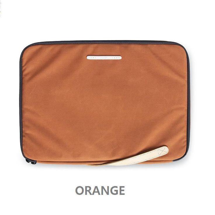 "RAWROW Zipper bag Men Women Casual Hand Bag Laptop Sleeve Case 15"" Pouch ORANGE #RAWROW #Clutch"