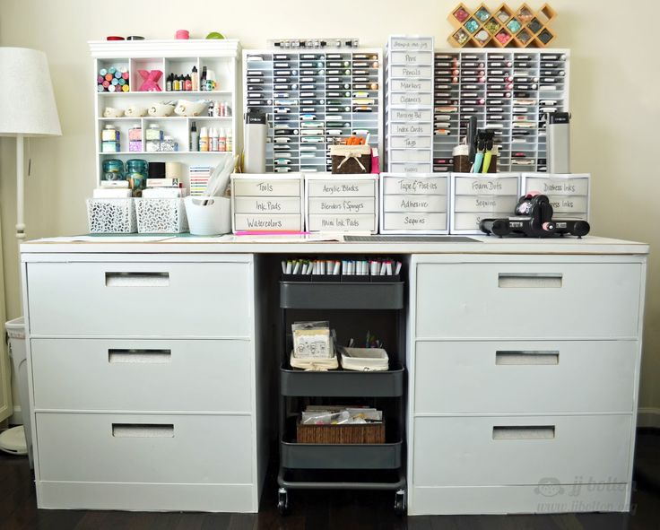 Craft Room Revisit ~ Work Table