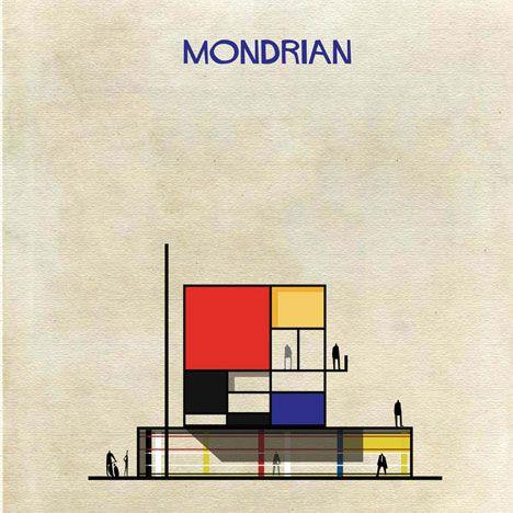 Se Mondrian fizesse um projeto: http://vilabacana.com.br/inspiracao/arte-encontra-arquitetura/