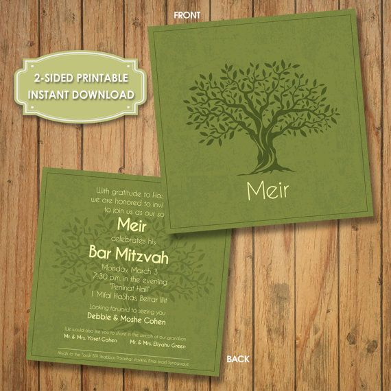 11 best Bar Mitzvah Invitations - Printable, Download images on - best of invitation english