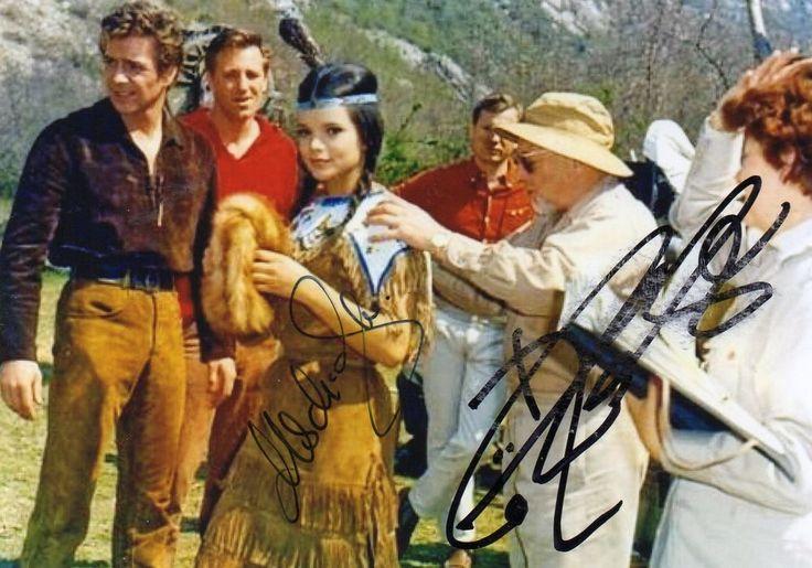 autogramme götz george | Götz George Uschi Glas Winnetou Pierre Brice Lex Barker ...
