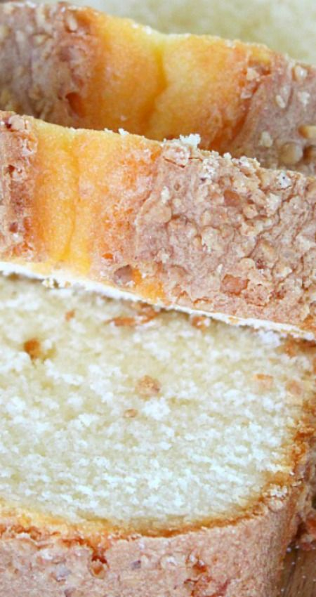 Madeira Cake ~ With Almonds, Peanuts & Lemon Juice... This cake is truly lovely! Moist, fluffy and tasty with an elegant look, it's exactly what you're looking for in a sponge cake.