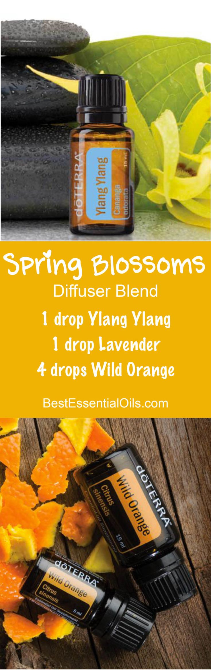 Spring Blossoms doTERRA Diffuser Blend