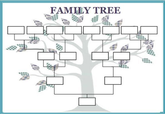 Family Tree Template 29 Download Blank Family Tree Free