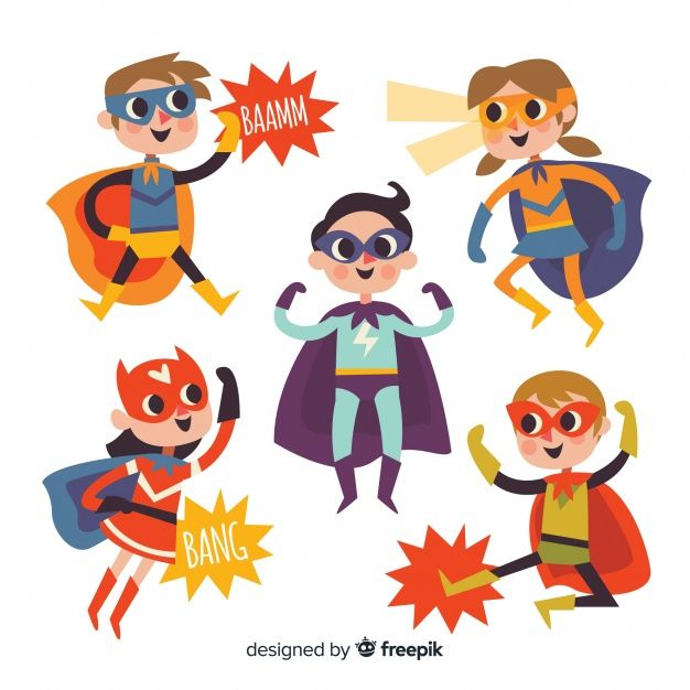 Download Collection Of Superhero Kids For Free In 2020 Superhero