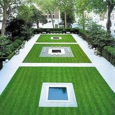 minimalistic garden