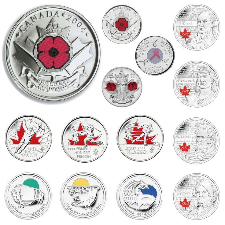 2004-2014 A decade of coloured circulation coins