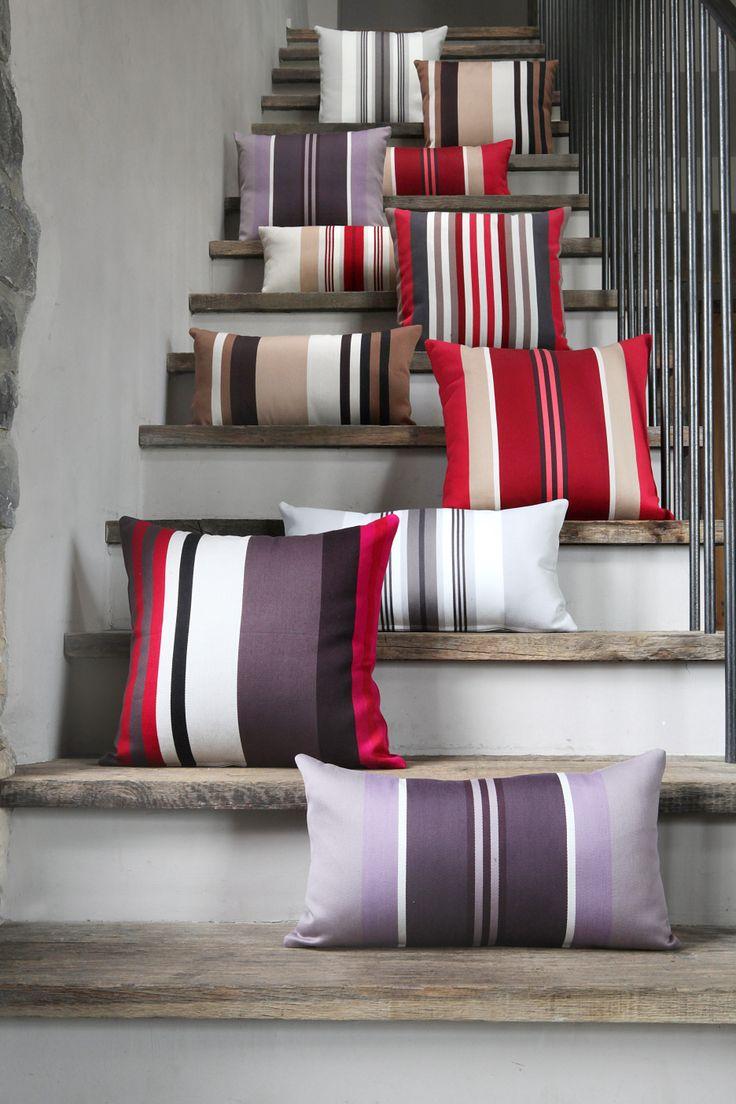 Coussins coton Jean-Vier - Cotton cushions Jean-Vier >> http://www.jean-vier.com/