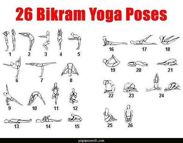 Die besten 17 Ideen zu Yoga Poses Chart auf Pinterest | Yoga