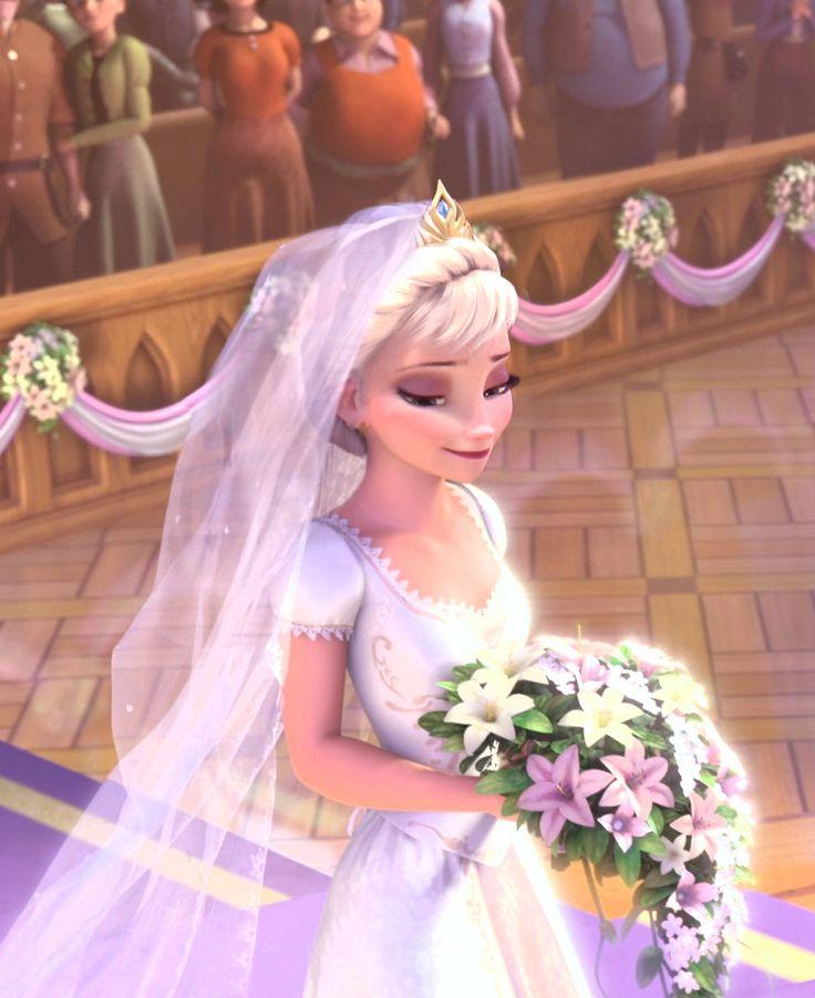BEAUTIFUL Elsa as Rapunzel edit!