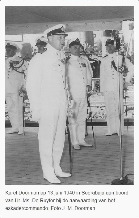 Rear-admiral Karel Doorman as the new commander of the dutch fleet in the Indies. article in Reformatorisch Dagblad (Dutch christian newspaper)