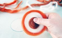 Мастер-класс в технике мокрого валяния: делаем своими руками шарфик МАНДАРИНОВЫЙ РАЙ