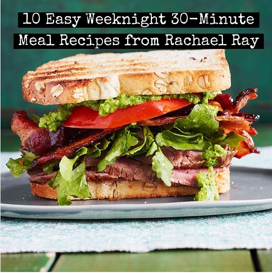 154 best rachael ray images on pinterest shopping tips and then easy weeknight 30 minute meals rachael ray ccuart Choice Image
