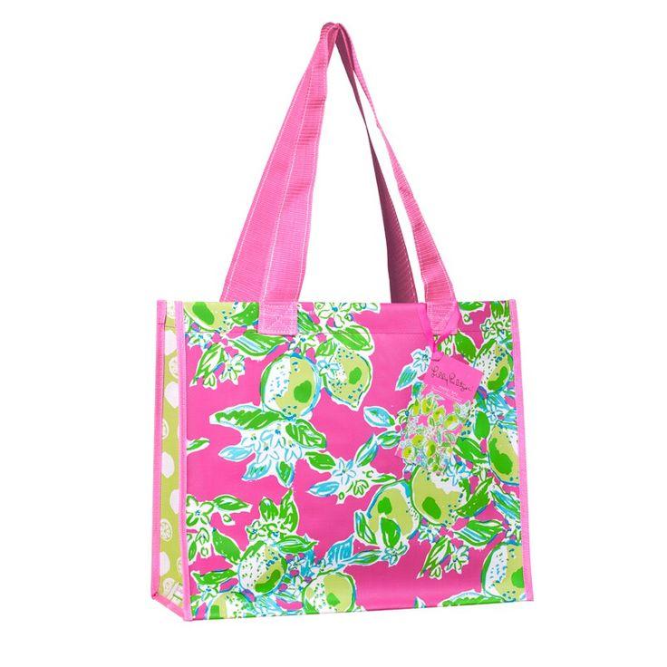Lilly Pulitzer Market Bag - Pink Lemonade