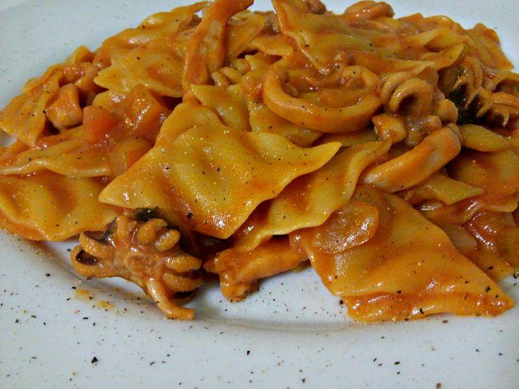 Pasta with squid ragout | Pasta al ragù di seppia | Il blog di Masly