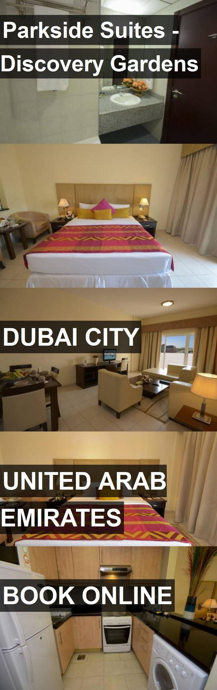 Hotel Parkside Suites - Discovery Gardens in Dubai City, United Arab Emirates. For more information, photos, reviews and best prices please follow the link. #UnitedArabEmirates #DubaiCity #hotel #travel #vacation