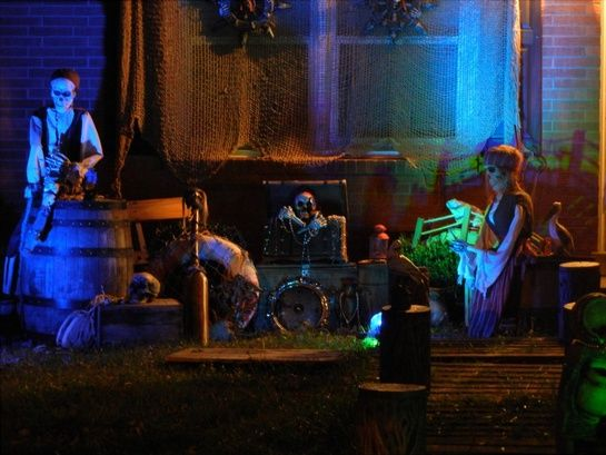 pirate halloween haunt prop showcase 2011 pirates of prp haunt pics