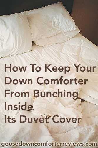 Hate bare spots from your comforter sliding to one end of its cover? Here's how to fix it. Image credit: https://www.flickr.com/photos/42276267@N07/8002469581/