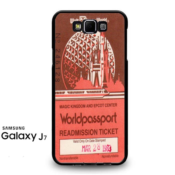 Logo Epcot Ticket 2 Samsung Galaxy J7 Prime Case
