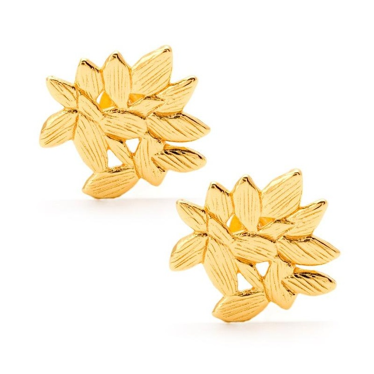 Gorjana Westerly Stud Earrings at aquaruby.com