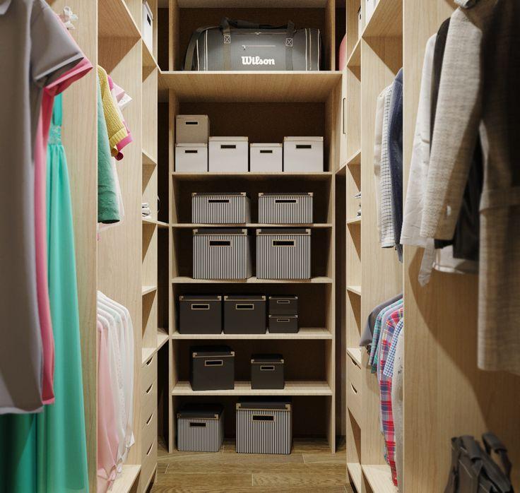 """Гардеробная комната по индивидуальному проекту от Творческой мастерской """"Buena Vida"""". #гардеробная #интерьер #мебель #мебельназаказ #дизайнерскаямебель"""