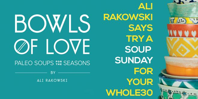 #BowlsOfLove and #SoupSundays featured on #Whole30's blog! Click through for a great Parsnip & Pear soup recipe