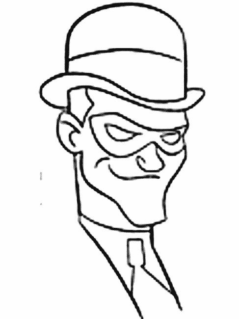 Lego Riddler Coloring Pages