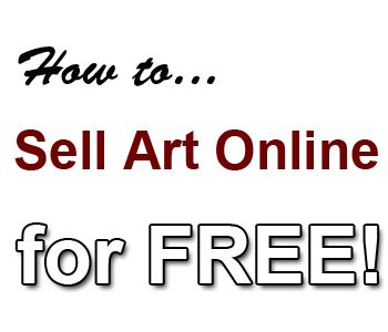 sell art online for free http://www.artpromotivate.com/2012/11/how-to-sell-your-art-online-for-free.html