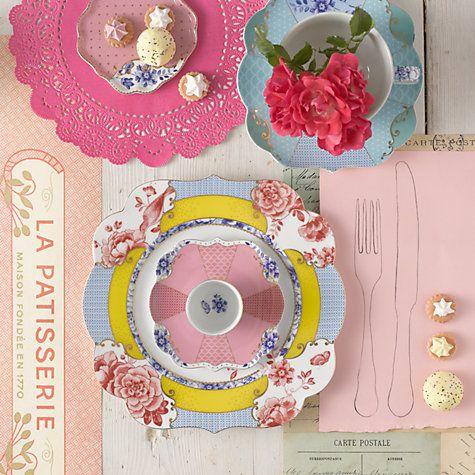 Buy PiP Studio Royal Tea Plate Online at johnlewis.com