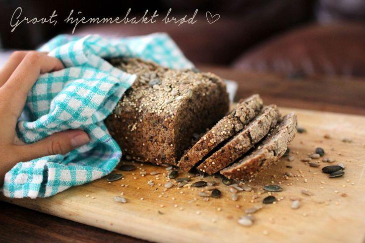 Oppskrift: grovt, hjemmebakt brød