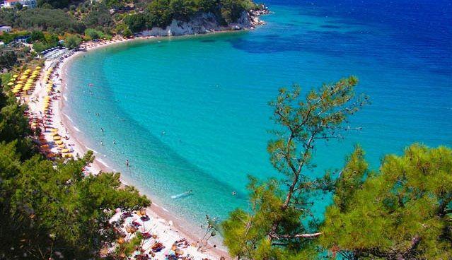 Playas de la isla de Samos