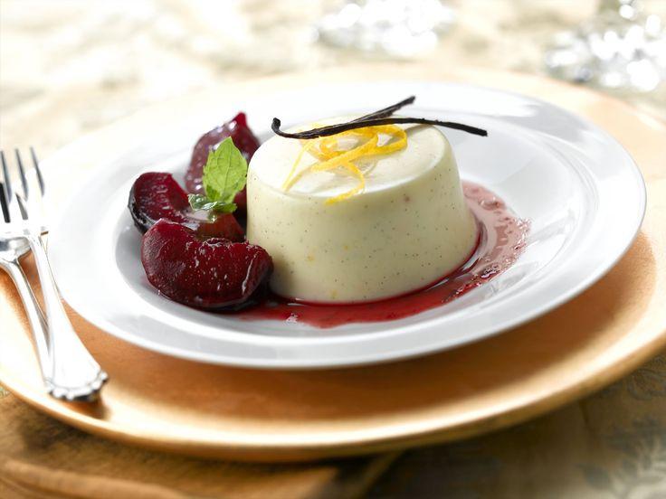 Бланманже из творога.( десерт)./blancmange from cottage cheese/.