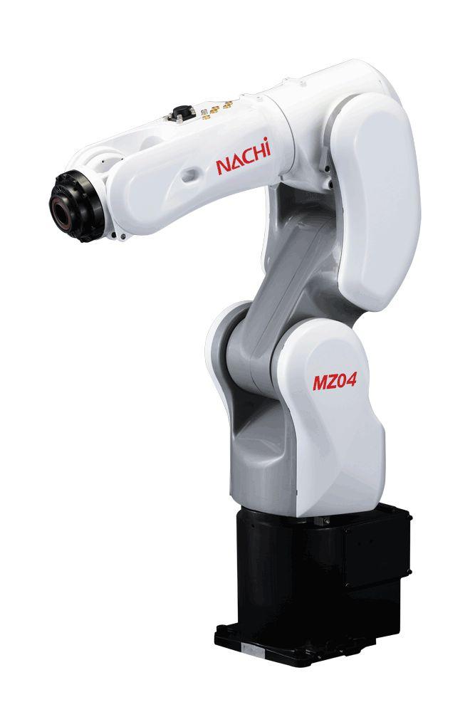 Nachi Robotics - MZ04/04E 6-axis Industrial Robot - 4kg & Collaborative…