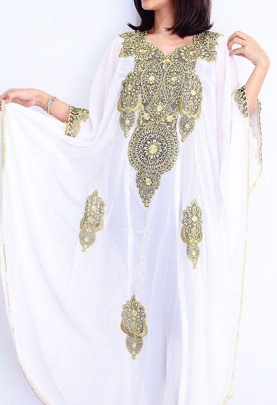 48 best images about white kaftans on pinterest kaftan for White kaftan wedding dress