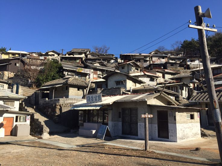 TV series set place. 70's korea atmosphere