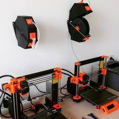 SPANNERHANDS+Spool+System+Wall+Mounted+Spool+Holder+&+Dust+Cover+by+dasfilament_de.+Based+on+a+design+by+SpannerHands.