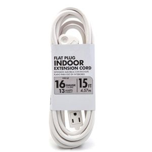 southwire white flat plugbanana tap extension cord