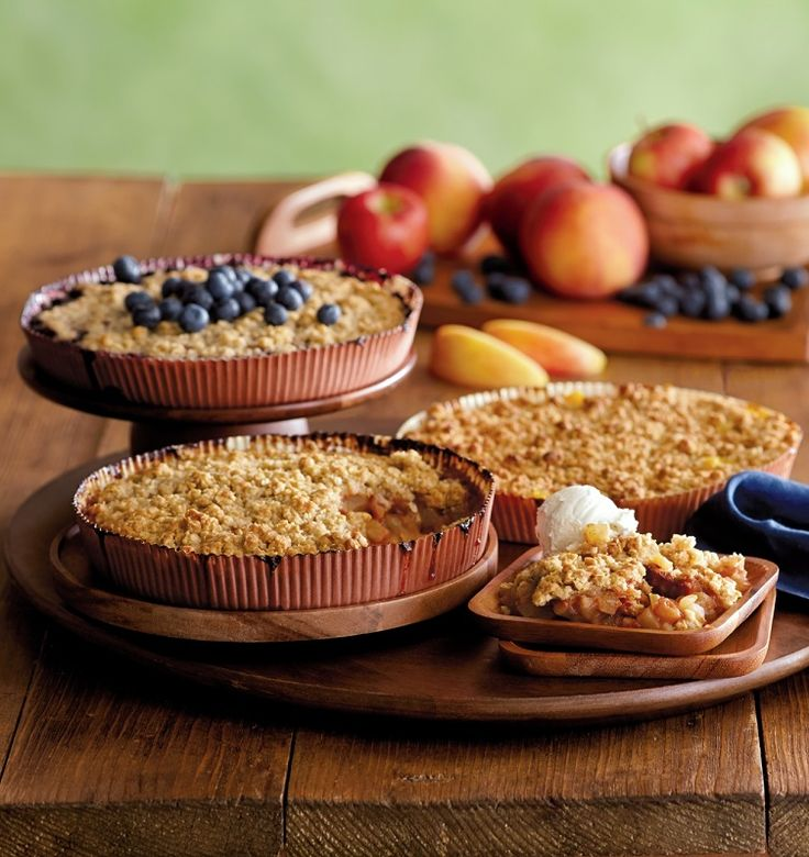 Looking for a great last minute Christmas gift? This fruit crisp assortment can make a great present to delight anyone on your list.