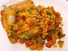 La cocina de Lola: Arroz con verduras y alitas de pollo